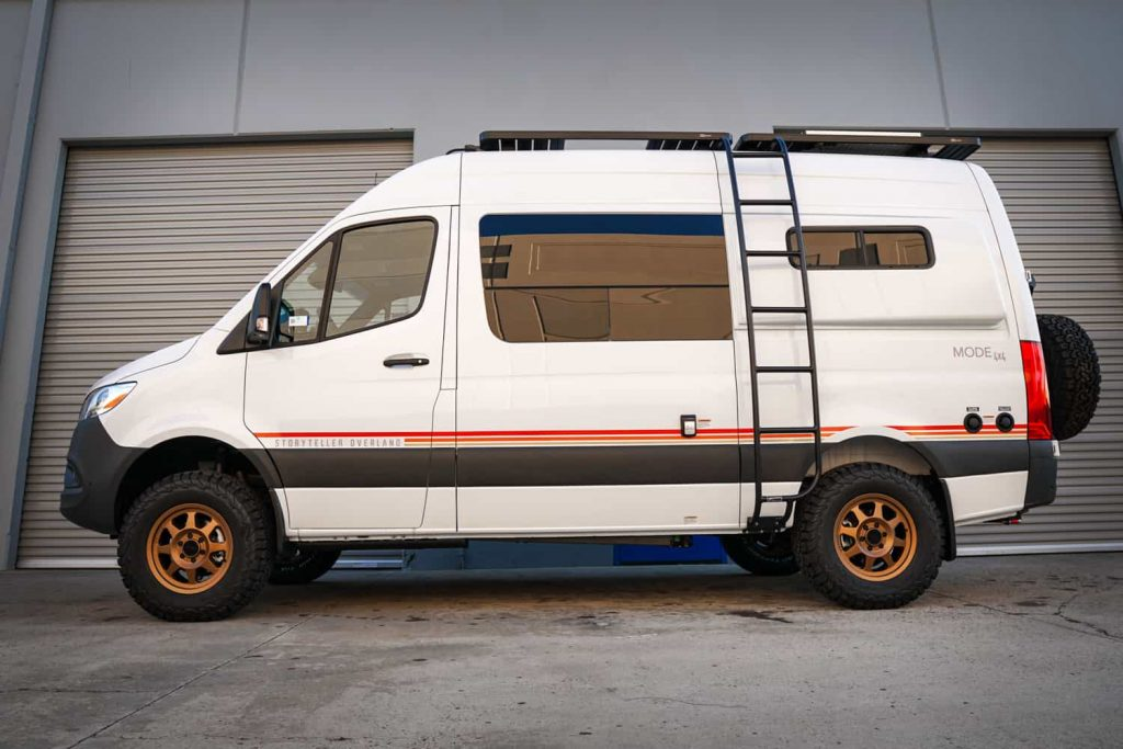 2020 Storyteller Mode 4x4 Sprinter 2500 upfitted by Agile Off Road for La Mesa RV