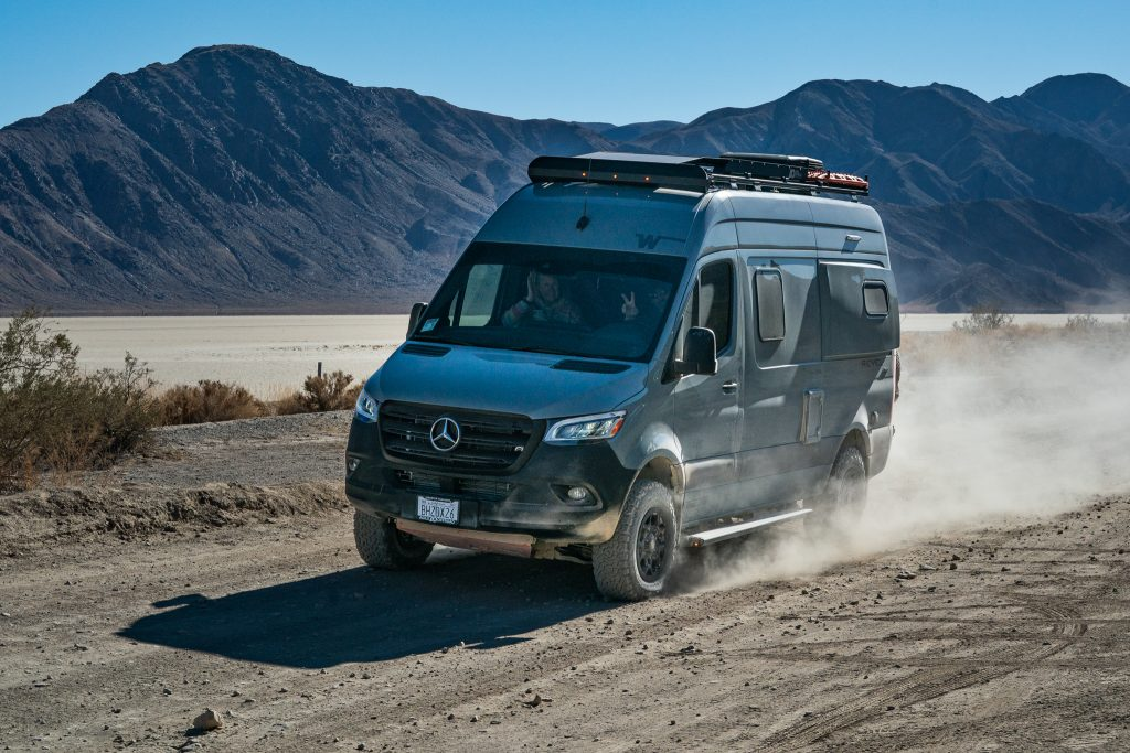 Agile Off Road 2021 Winnebago Revel at Death Valley State Park