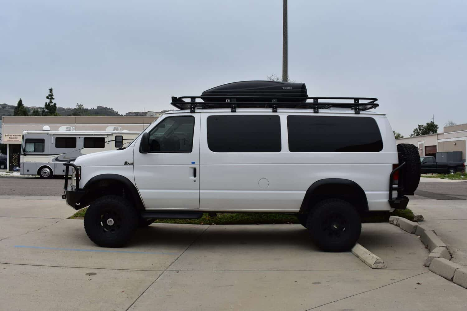 Aluminess Roof Racks For Ford Vans Agile Off Road
