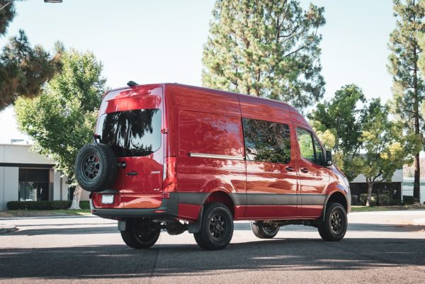 Method Race MR701 Trail Wheels for Mercedes Sprinter at Agile Off Road