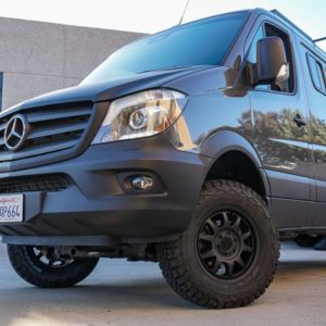 Method Race 702 Trail wheels on Mercedes Sprinter 2500 at Agile Off Road