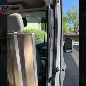 ford transit side door grab bar at agile off road