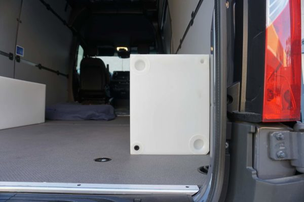 Universal 20-Gallon Offset Directional Water Tank for Mercedes Sprinter & Ford Transit at Agile Off Road