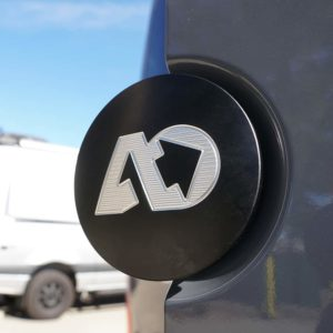 Agile Off Road Black Rear Door Emblem for Mercedes Sprinter