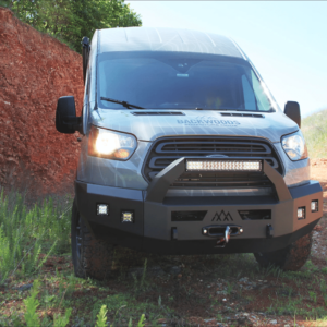 Backwoods Front Bumper for Ford Transit (2015-2019) at Agile Off Road