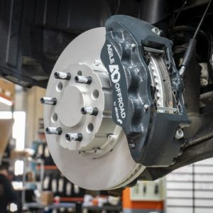 Agile Off Road Alcon Big Brake Upgrade Kit for Mercedes Sprinter 4x4