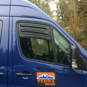 Terrawagen Window Vent & Bug Barrier for Sprinter at Agile Off Road